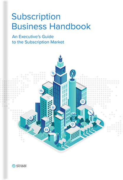 Subscription Business Handbook cover straal