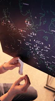 straal meeting map
