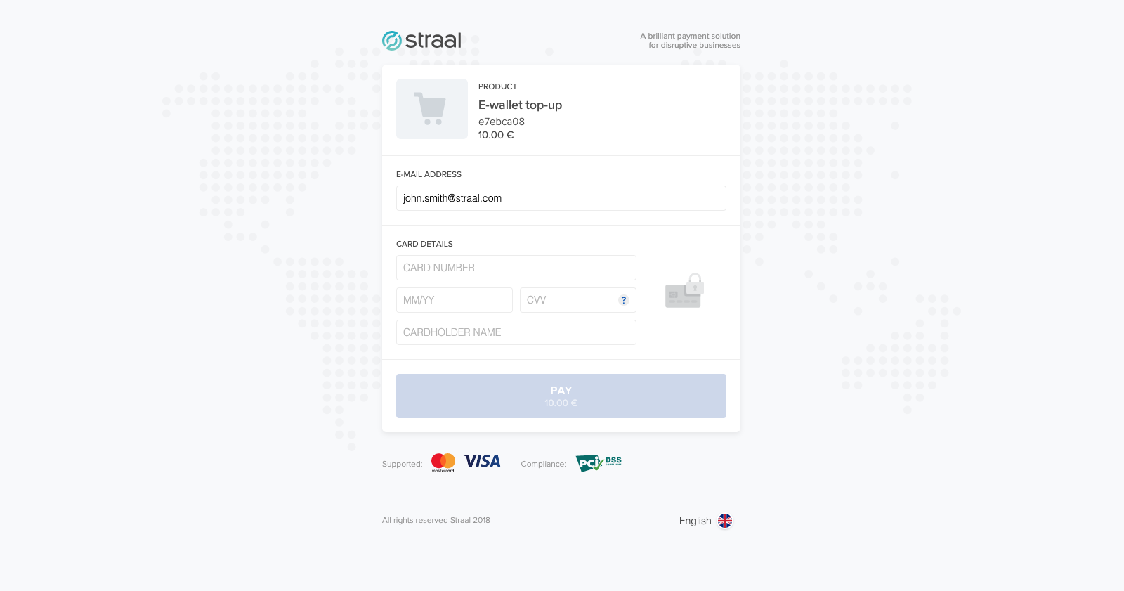 Straal-blog checkout-page