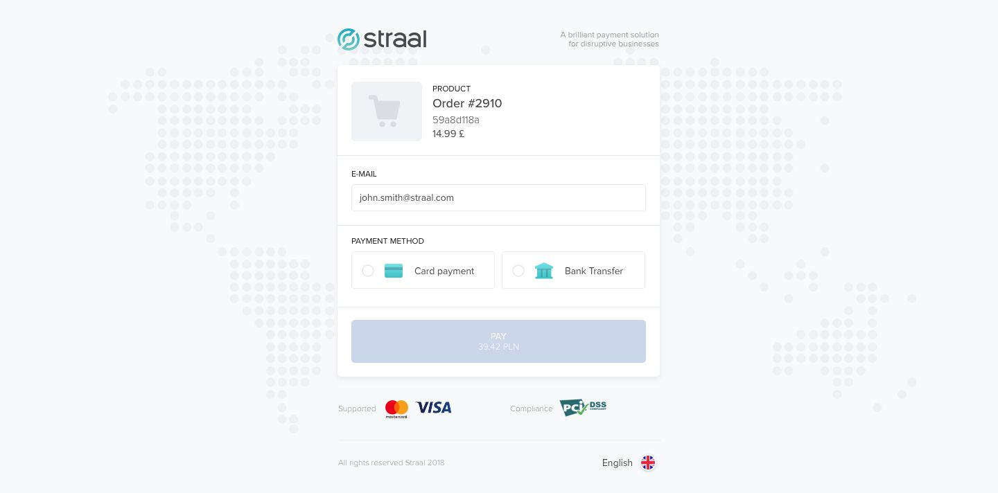 Straal: Choose International Payment Gateway | Payment Methods